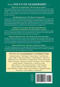 Focus on Leadership: Servant-Leadership for the 21st Century