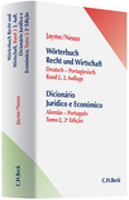 Wörterbuch der Rechts- und Wirtschaftssprache 2. Deutsch - Portugiesisch