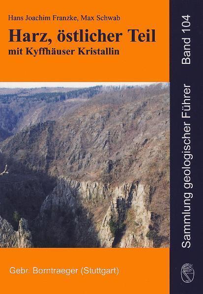 Harz, östlicher Teil mit Kyffhäuser Kristallin ...