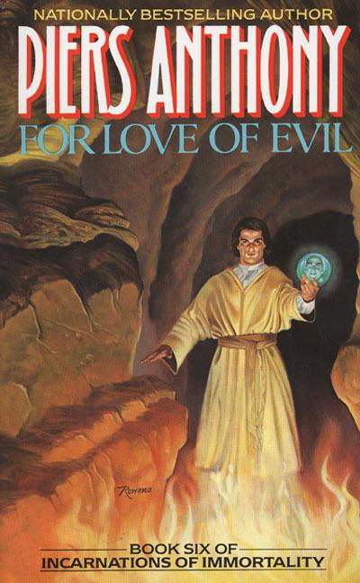 For Love of Evil: Book Six of Incarnations of Immortality als Taschenbuch