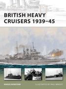 British Heavy Cruisers 1939-45