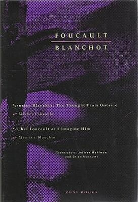 Maurice Blanchot - The Thought from Outside Michel Foucault als Buch