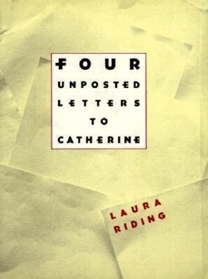 Four Unposted Letters to Catherine als Buch