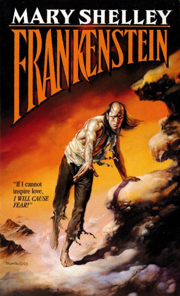 Frankenstein als Taschenbuch