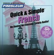 Pimsleur French Quick & Simple Course - Level 1 Lessons 1-8 CD: Learn to Speak and Understand French with Pimsleur Language Programs