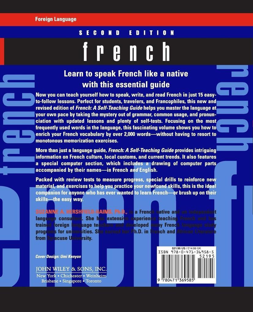 French: A Self-Teaching Guide als Taschenbuch