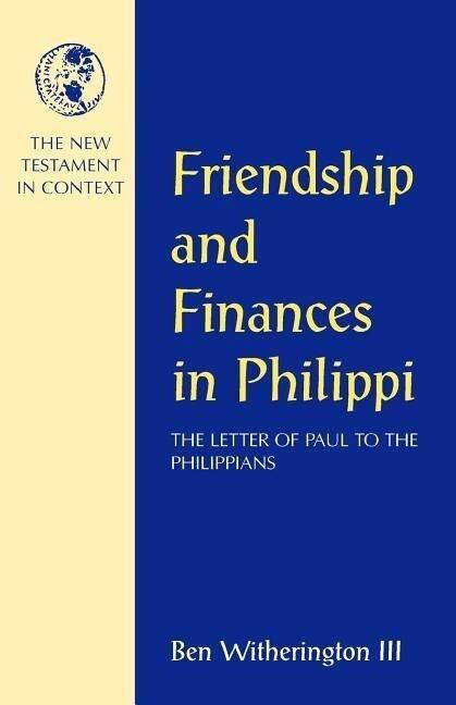 Friendship and Finances in Philippi als Taschenbuch