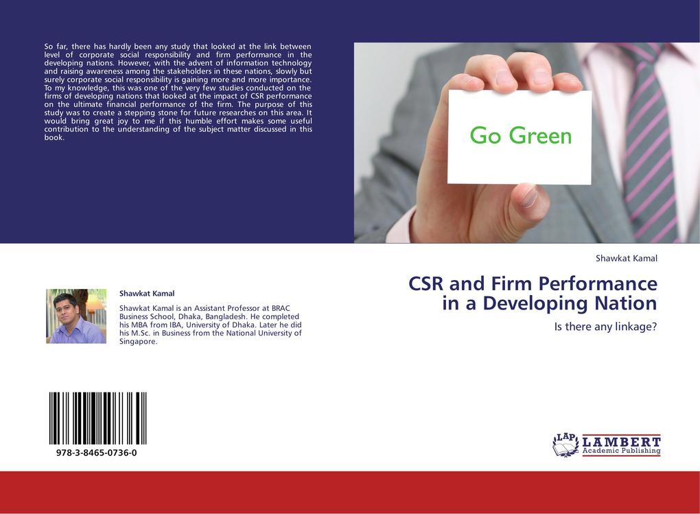 CSR and Firm Performance in a Developing Nation...