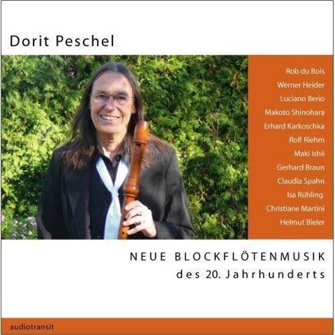 Neue Blockflötenmusik des 20. Jahrhunderts als CD