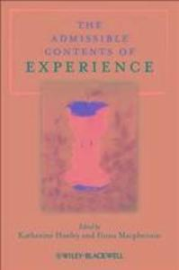 The Admissible Contents of Experience als eBook...