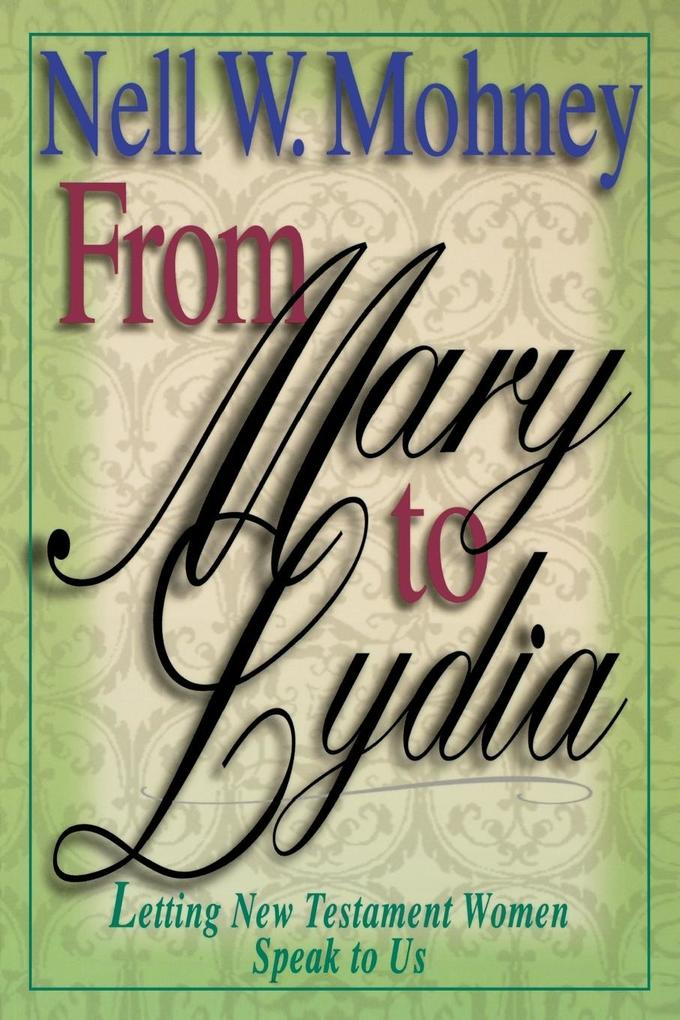 From Mary to Lydia als Taschenbuch