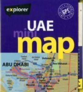 UAE Mini Map als Buch von