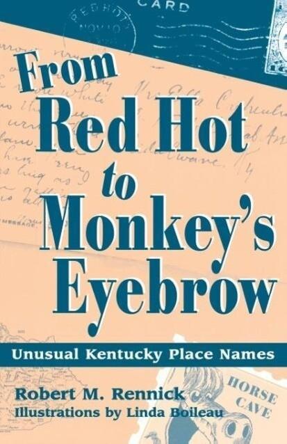 From Red Hot to Monkey's Eyebrow als Taschenbuch