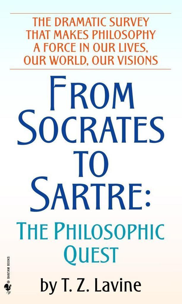 From Socrates to Sartre als Taschenbuch
