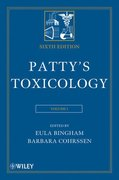 Patty's Toxicology, 6 Volume Set