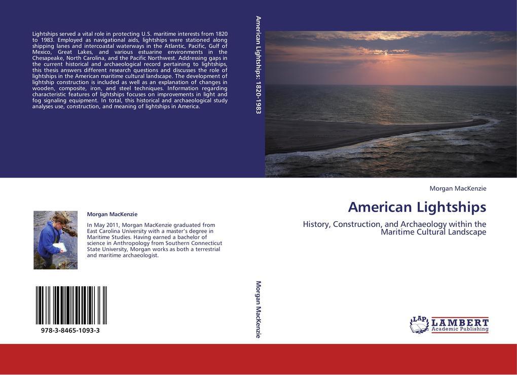 American Lightships als Buch von Morgan MacKenzie