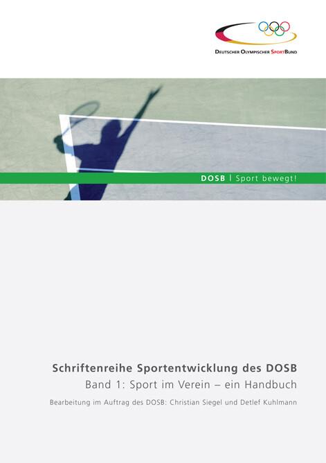 Sport im Verein - ein Handbuch, Band 1 als Buch...