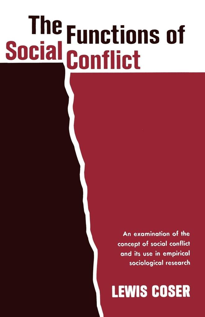 The Functions of Social Conflict als Taschenbuch