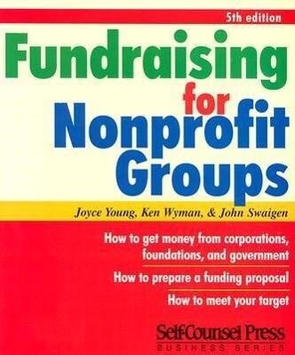 Fundraising for Non-Profit Groups als Taschenbuch