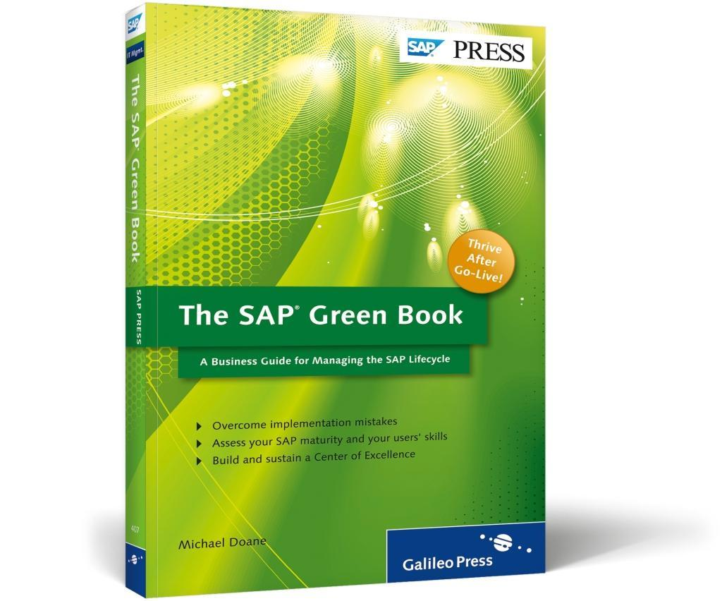 The SAP Green Book als Buch von Michael Doane