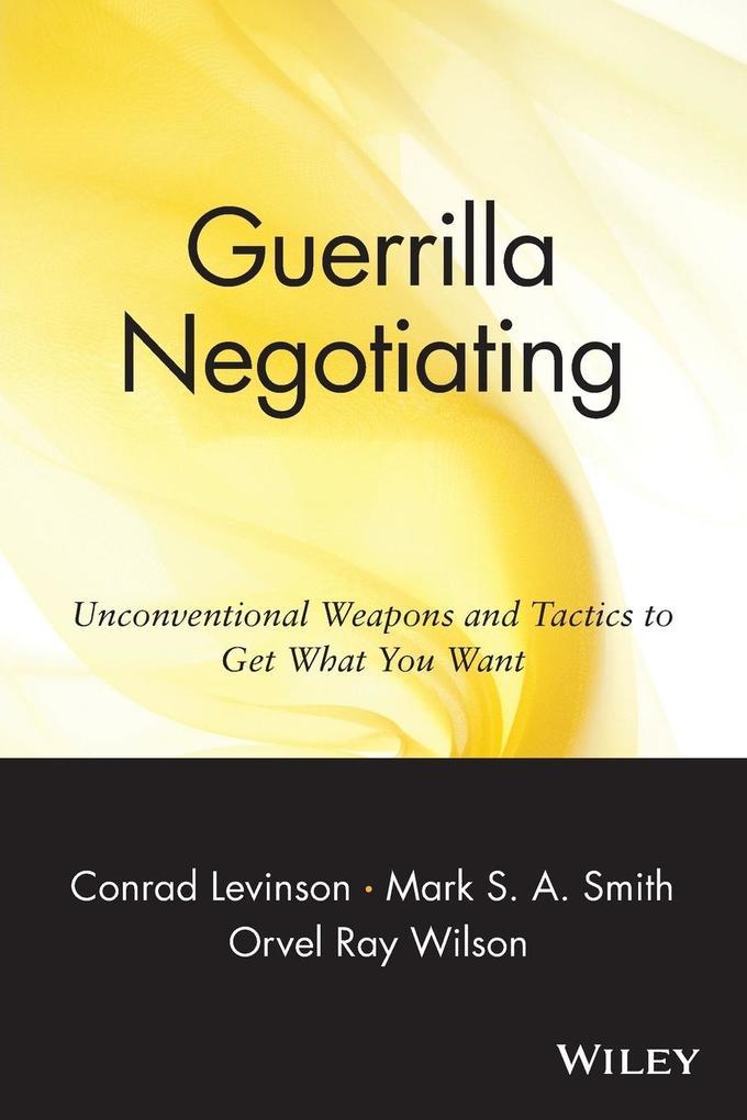 Guerrilla Negotiation als Buch