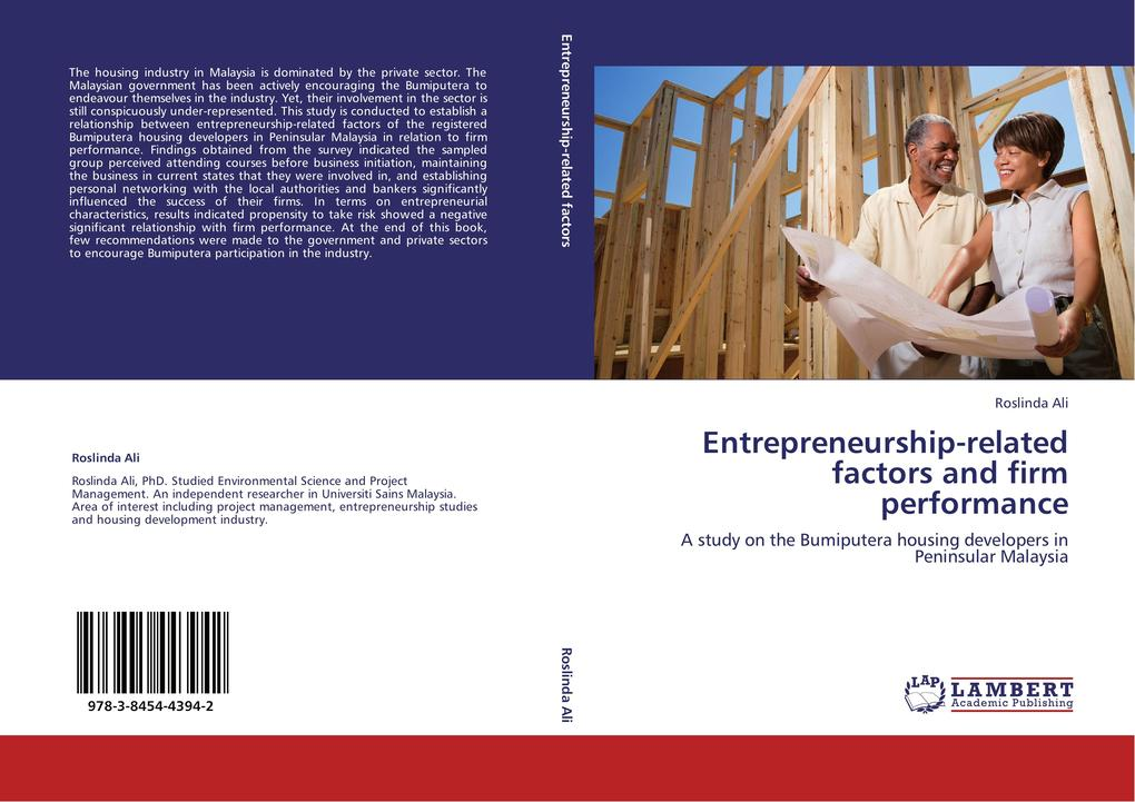 Entrepreneurship-related factors and firm perfo...