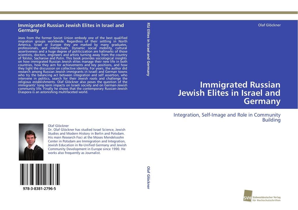 Immigrated Russian Jewish Elites in Israel and ...