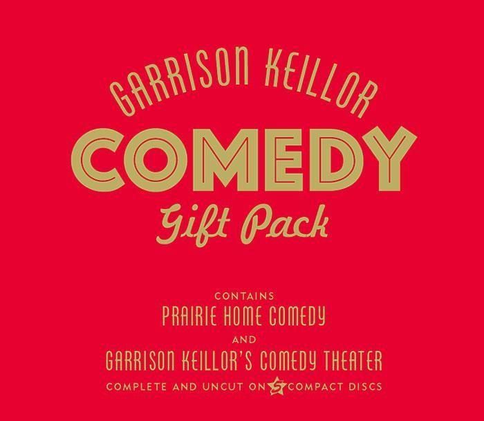 Garrison Keillor Comedy Gift Pack als Hörbuch