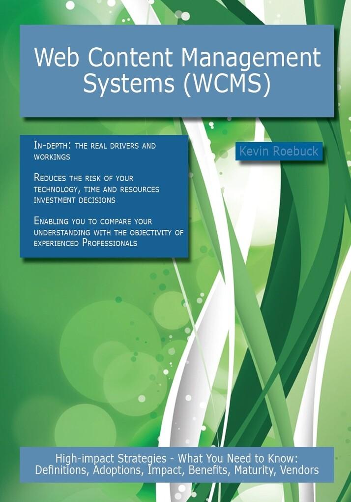 Web Content Management Systems (WCMS): High-imp...