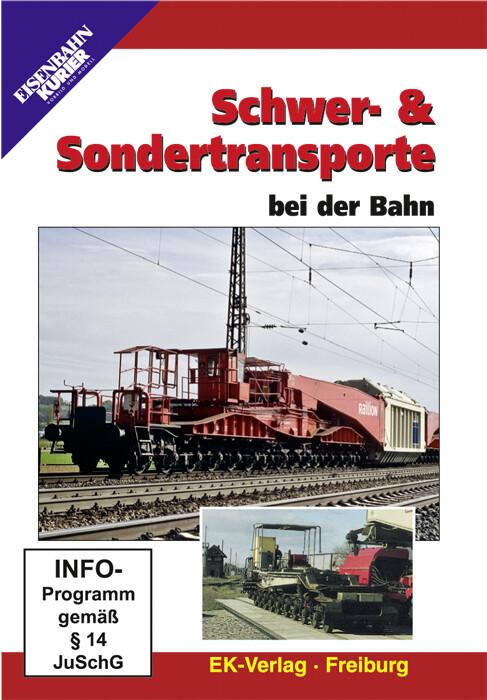 Schwer- und Sondertransporte bei der Bahn. DVD-Video als DVD