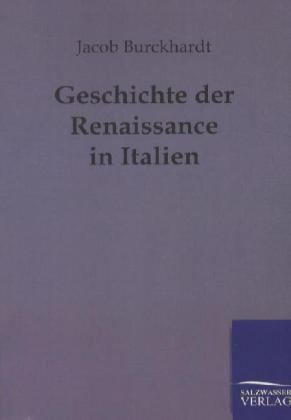 Geschichte der Renaissance in Italien als Buch ...