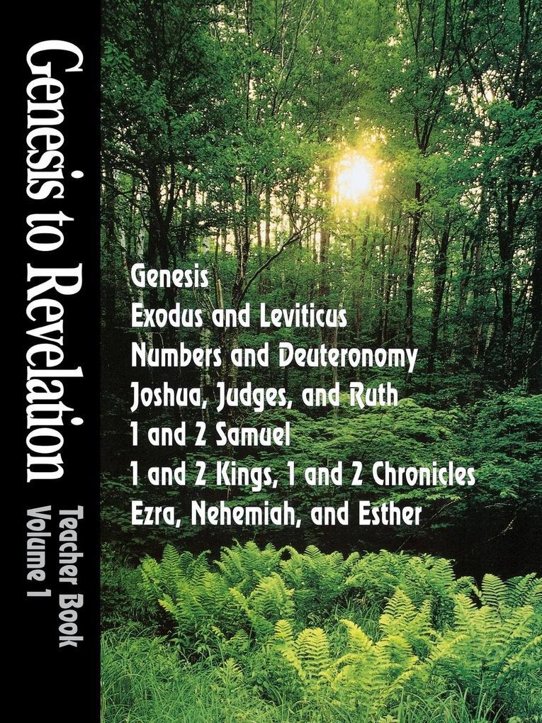 Genesis to Revelation Volume 1 als Taschenbuch