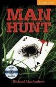 Man Hunt Level 4 Intermediate Book with Audio CDs (3) Pack