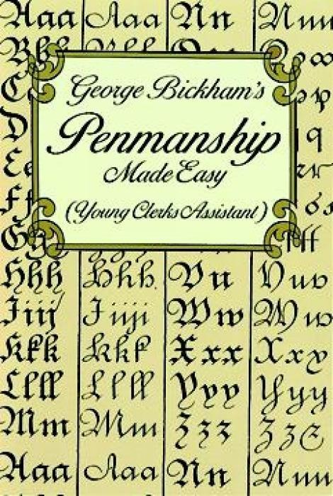 George Bickham's Penmanship Made Easy (Young Clerks Assistant) als Taschenbuch
