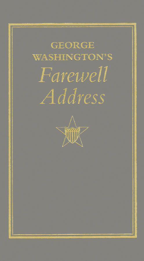 George Washington's Farewell Address als Buch