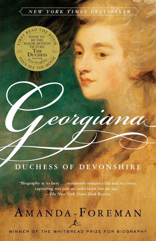 Georgiana Duchess of Devonshire als Taschenbuch