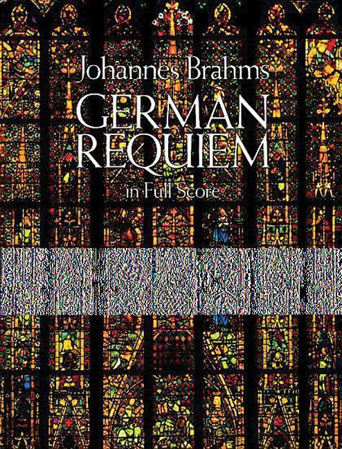 German Requiem in Full Score als Taschenbuch
