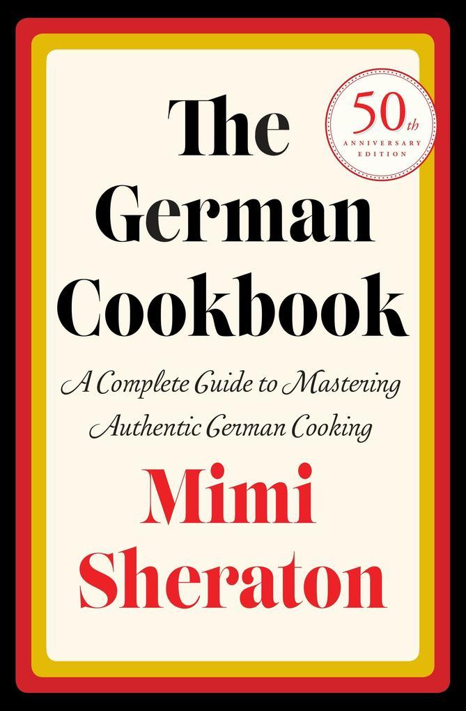 The German Cookbook als Buch