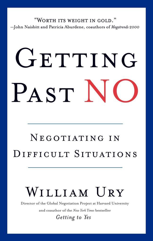 Getting Past No als Buch