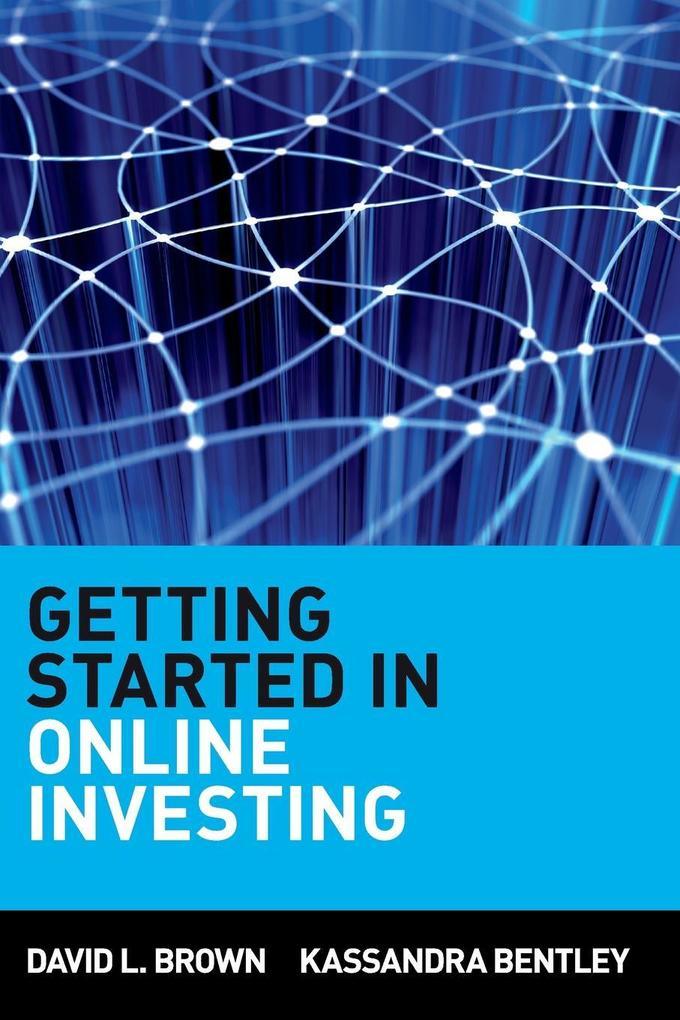 Getting Started in Online Investing als Taschenbuch