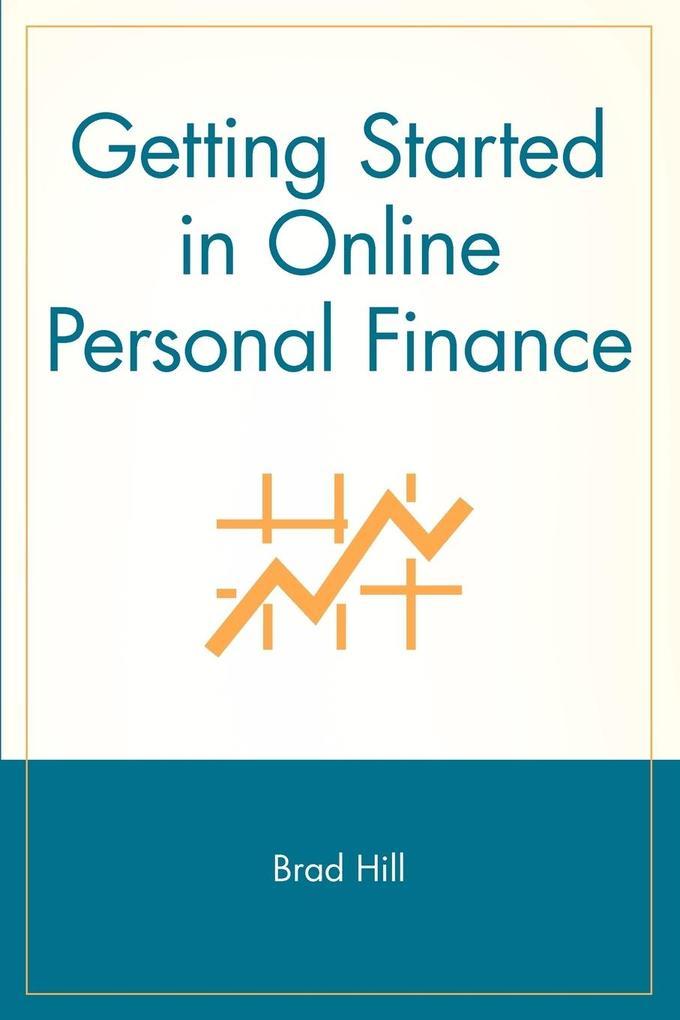 Getting Started in Online Personal Finance als Taschenbuch