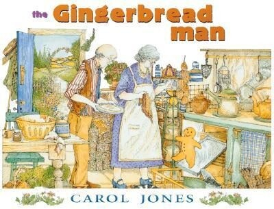 The Gingerbread Man als Buch