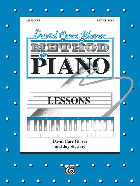 David Carr Glover Method for Piano Lessons: Level 1 als Taschenbuch