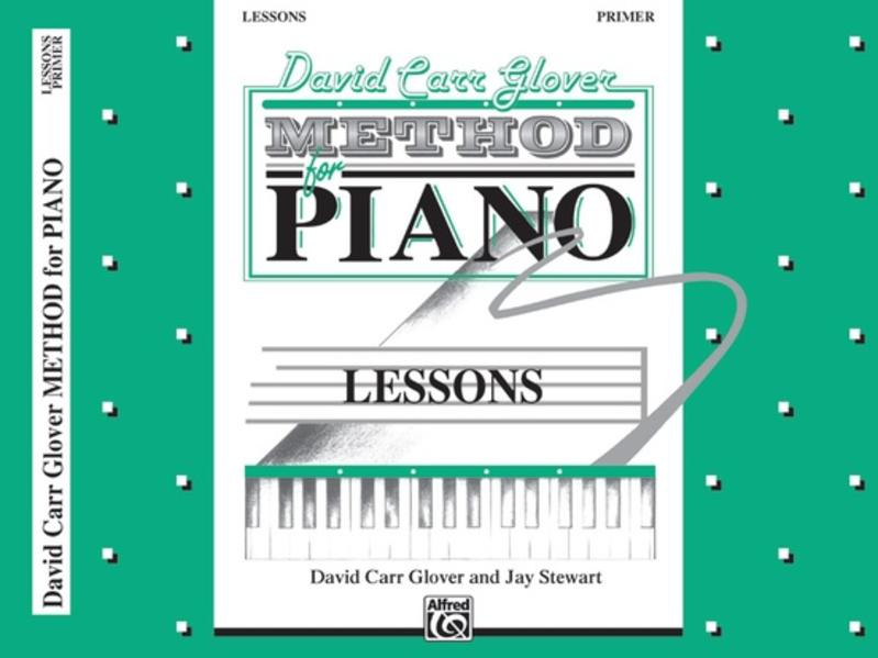 David Carr Glover Method for Piano Lessons: Primer als Taschenbuch