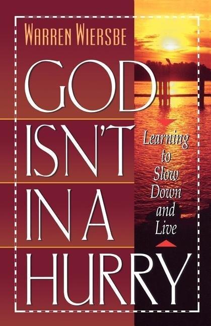 God Isn't in a Hurry als Taschenbuch