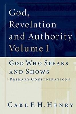 God, Revelation and Authority als Taschenbuch