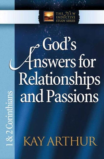 God's Answers for Relationships and Passions: 1 & 2 Corinthians als Taschenbuch