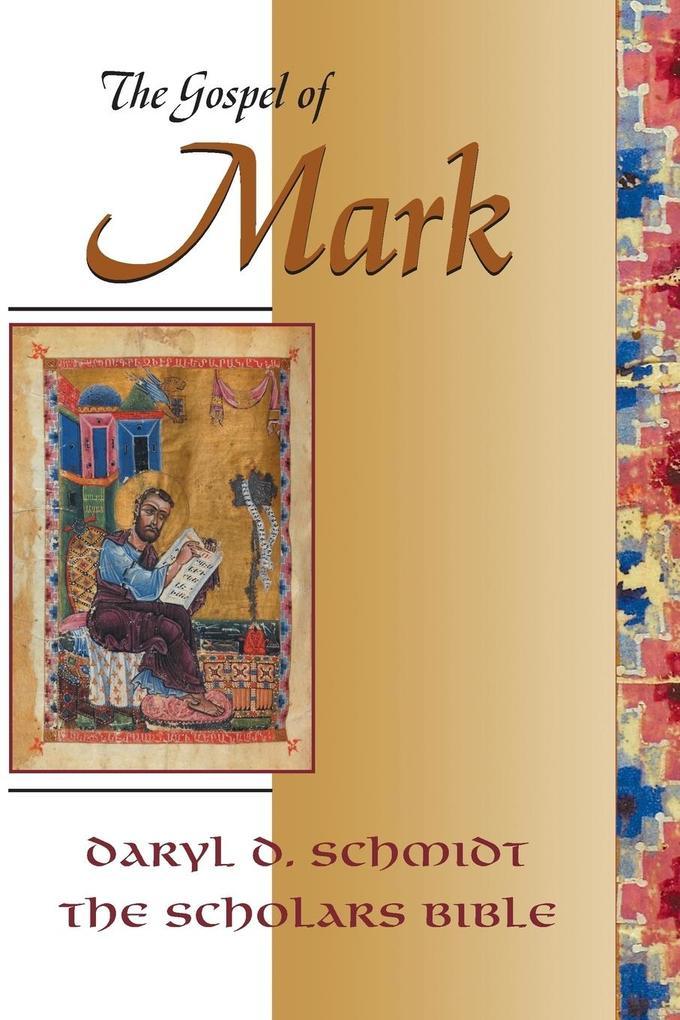 The Gospel of Mark (Scholars Bible) als Taschenbuch