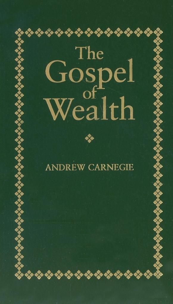 Gospel of Wealth als Buch