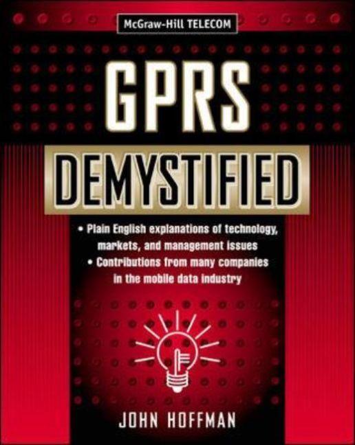 GPRS Demystified als Buch (gebunden)
